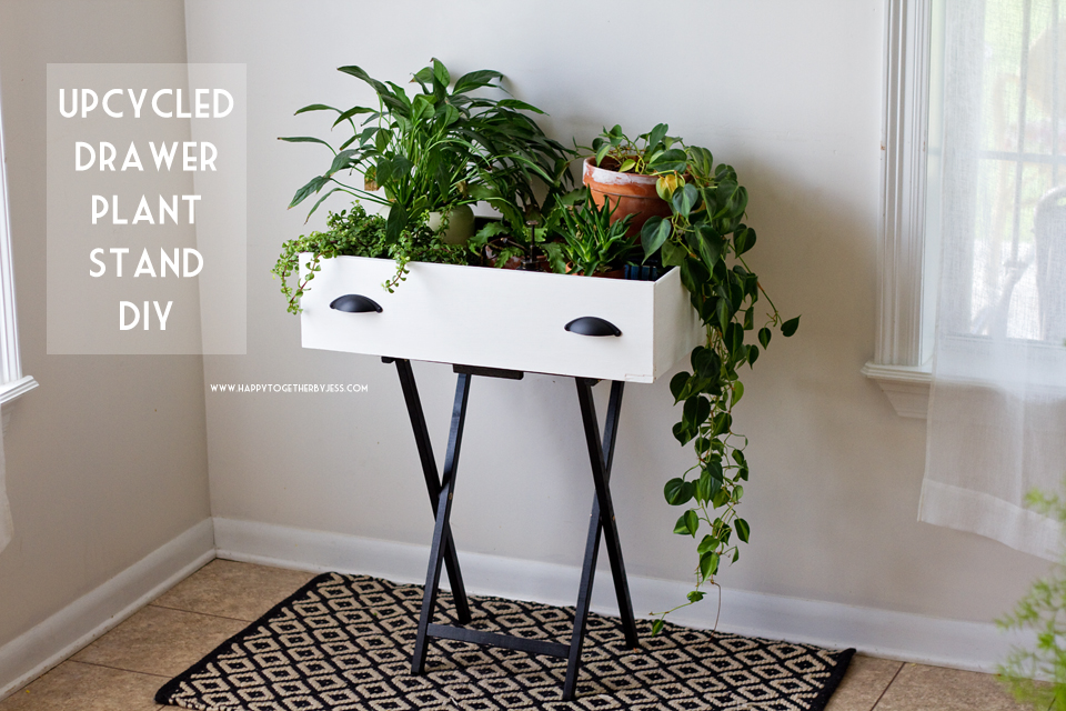 Upcycled Drawer Plant Stand Diy Hy Together